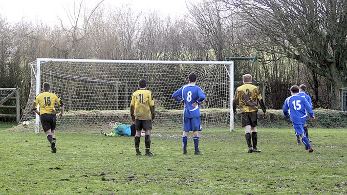 lyme regis rovers penalty save