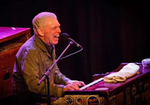 Georgie Fame at the Marine Theatre (photo by Kevin Marston)