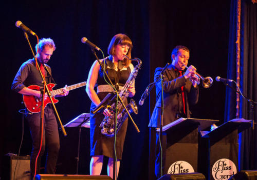 The Fliss Gorst Band (photo by Kevin Marston)