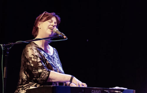 Liane Caroll at the Marine Theatre (photo by Kevin Marston)
