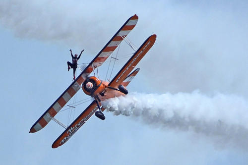 The Flying Circus by-planes (photo by Rob Wheeler)
