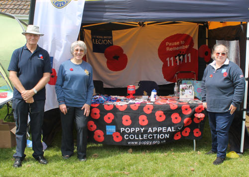 The Lyme Regis branch of the Royal British Legion