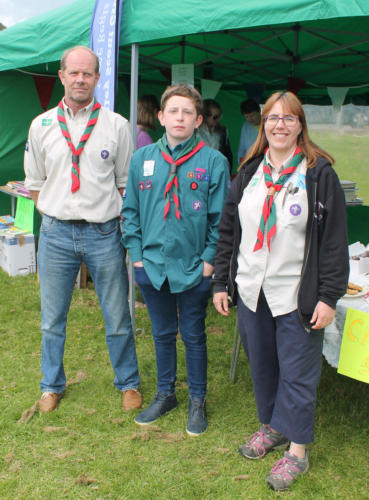 The 1st Lym Valley Scouts