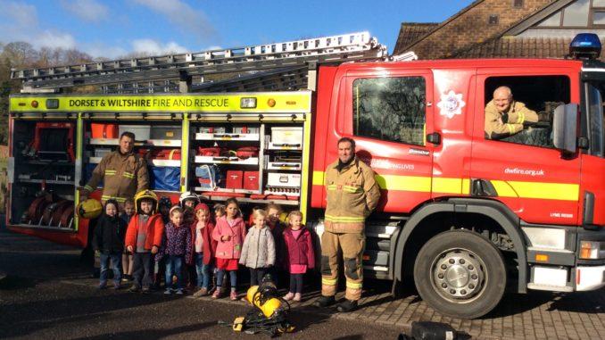 uplyme preschool fire engine