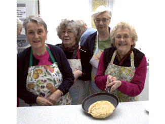 church pancake party