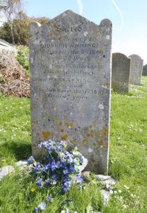 mary anning grave