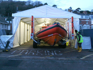 lifeboat tent