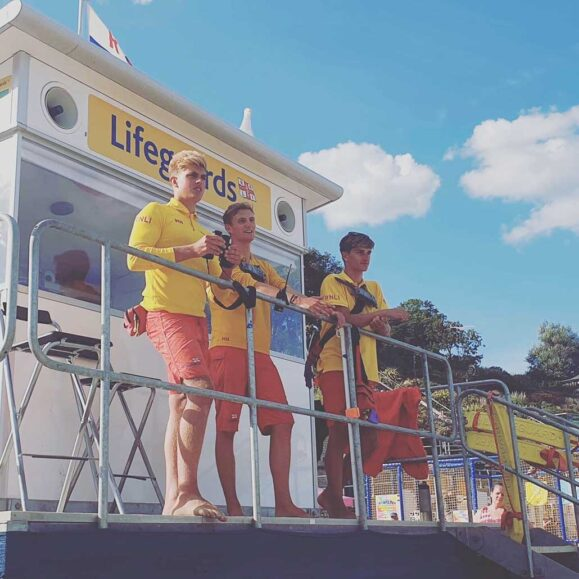 RNLI Lifeguards Keep Beaches Safe As Warm Weather