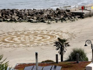 beach art lockdown
