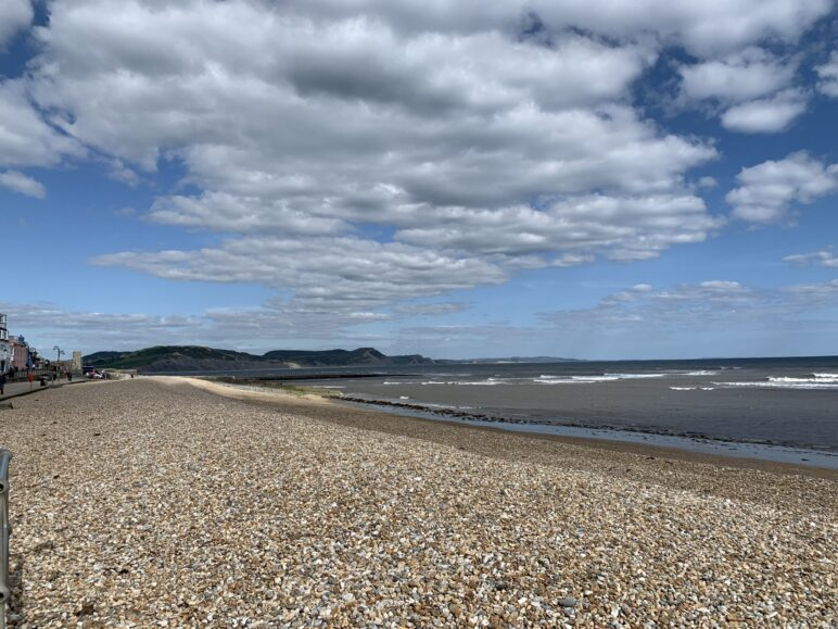 lyme regis shingle beach