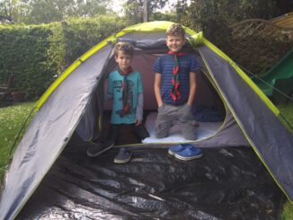 scouts camp at home