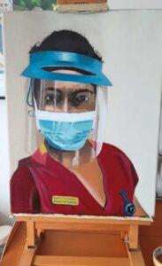 nhs nurse portrait