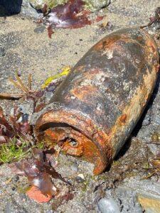 suspected bomb