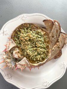 hix recipe spider crab