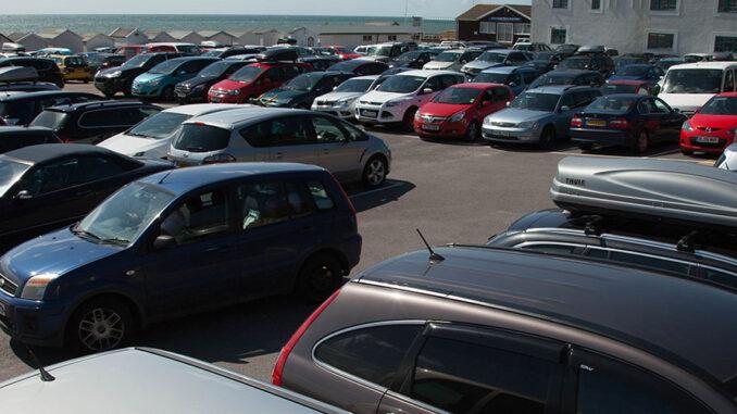 Monmouth Beach car park