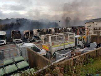 council depot fire