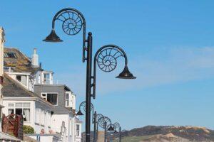 ammonite lampposts