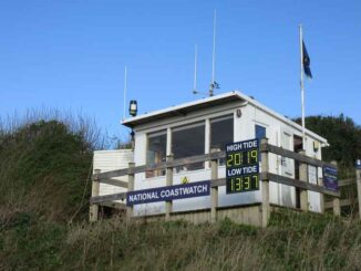 lyme bay coastwatch lookout
