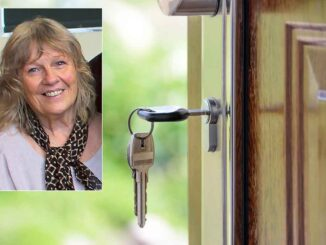 Town councillor Reynolds is campaigning for improved affordable housing allocation