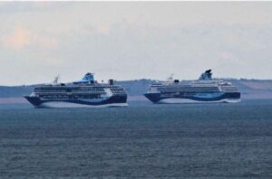 Lyme Bay cruise ships