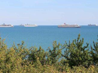 Lyme Bay ships
