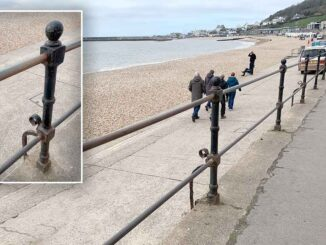 seafront railings