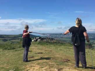 Axminster and Lyme Cancer Support Nordic walking