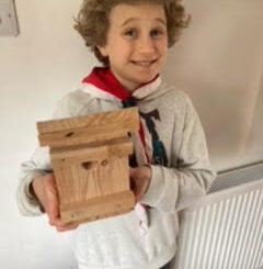 Charmouth Scouts dormice box