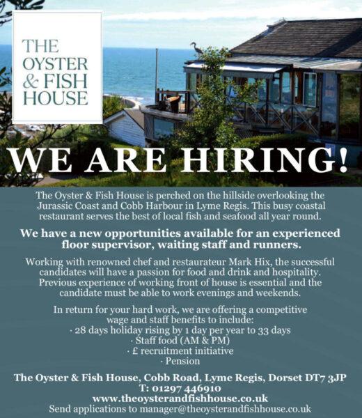 Oyster & Fish House job advert