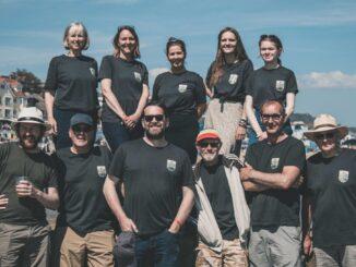 Lyme Bay Radio team