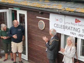 Sailing club centenary