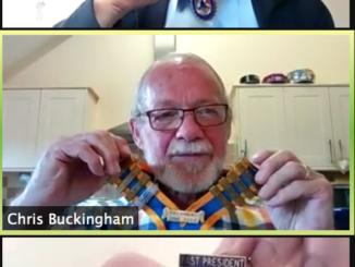 Rotary virtual meeting