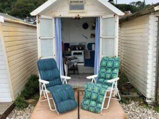 Monmouth Beach hut