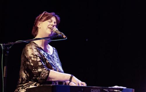 Liane Caroll at the Marine Theatre (photo by Kevin Marston)
