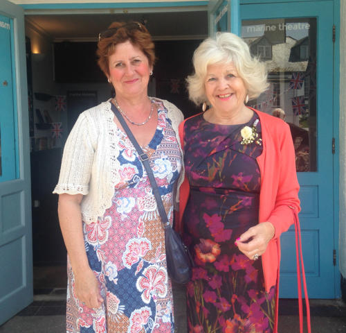 Carol Rogers and Tegwen Evans