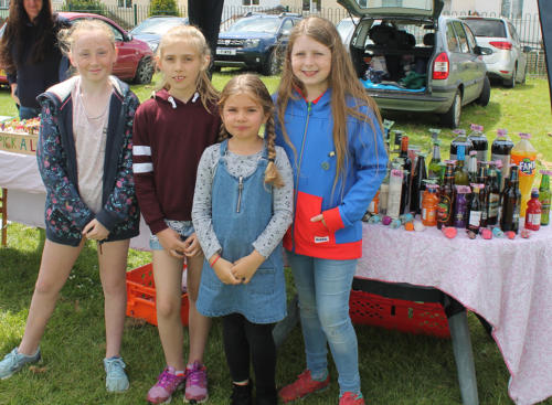 Children help raise funds for St Michael's Primary School & Pre-School PTFA