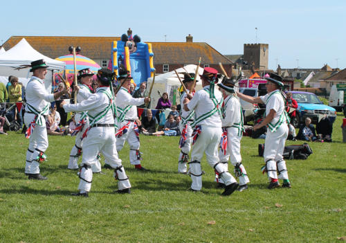 Uplyme Morris perform