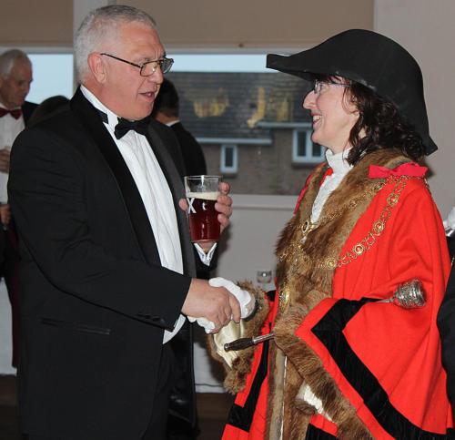 Paul Oatley of Lyme Regis regatta & Carnival Committee