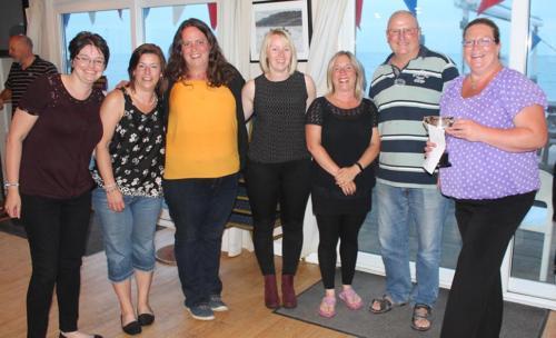 Lyme Regis Skittles League Presentation Night 2018