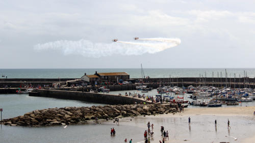 The Flying Circus by-planes over the Cobb