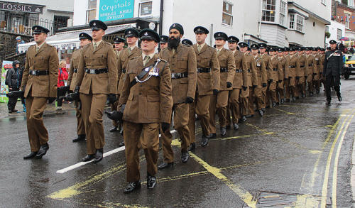 The Rifles Freedom Parade