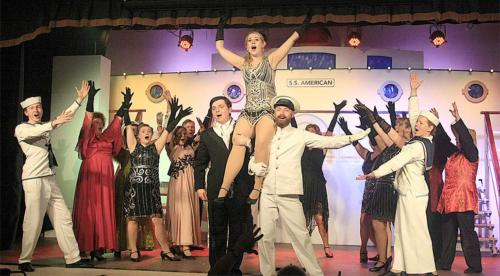 Lyme Regis Musical Theatre's 'Anything Goes' 2019