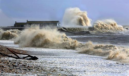 Lyme Regis Storms & Sunsets - Richard Austin