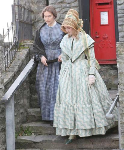 Filming of 'Ammonite' with Kate Winslet & Saoirse Ronan